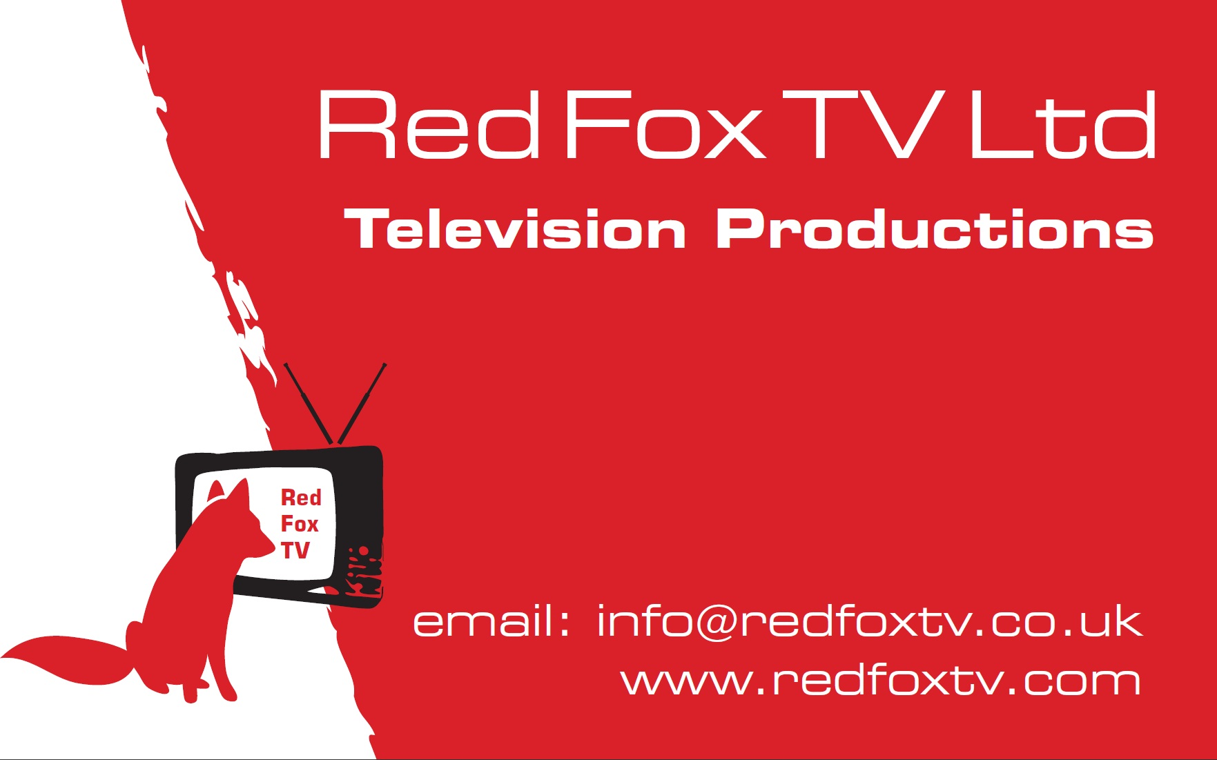 red fox tv. Black Bedroom Furniture Sets. Home Design Ideas